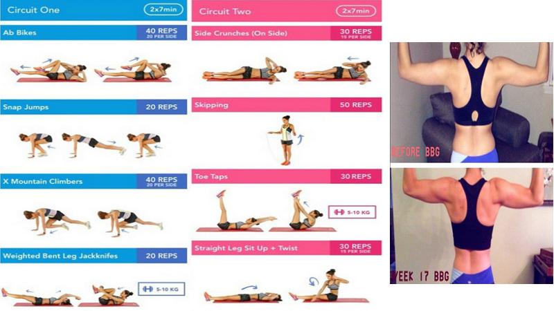 Rutina de ejercicios para adelgazar mujer