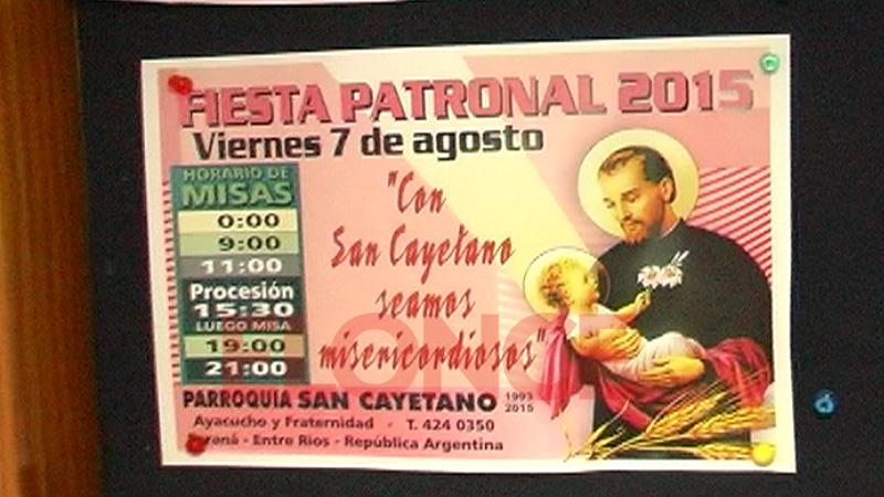 Con La Primera Misa Comenzó La Celebración De San Cayetano