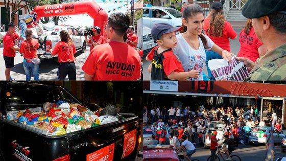 Once por Todos: Llegó el día de la gran fiesta de la solidaridad