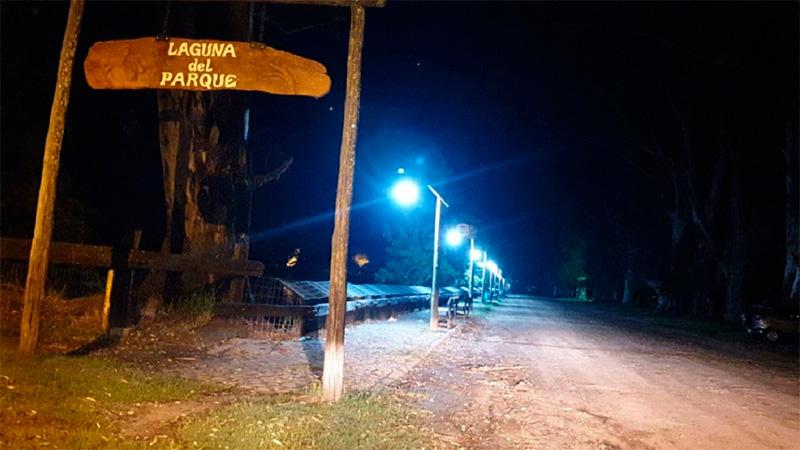 Hallaron muerta a una mujer en la Laguna del Parque Unzué