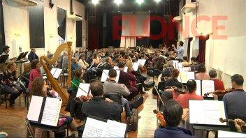 Nueva presentación de la Sinfónica de Entre Ríos en La Vieja Usina