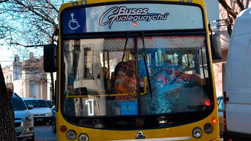 Se retomó el servicio de transporte en Gualeguaychú