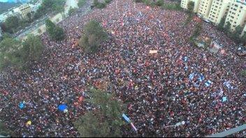 La canción que se convirtió en hit en las marchas de Chile