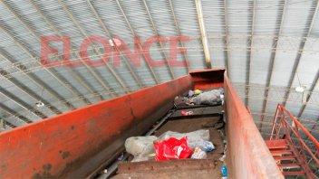 Retención de servicios: Continúa paralizada la planta de tratamiento de residuos