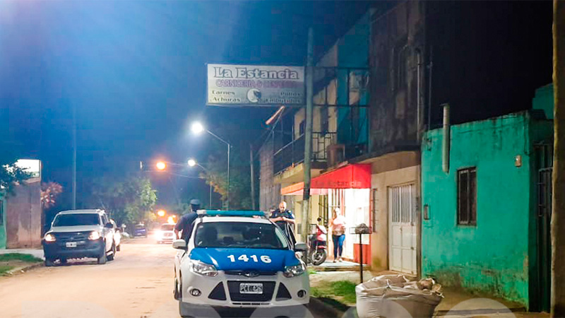 Pareja asaltó a mano armada un comercio en Gualeguaychú