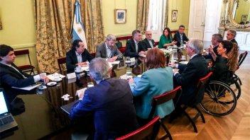 Macri recibió en Olivos a congresistas de Estados Unidos