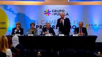 Con Alberto Fernández como anfitrión, se reúne el Grupo de Puebla