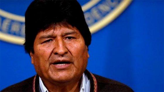 Evo Morales llegó a Argentina: