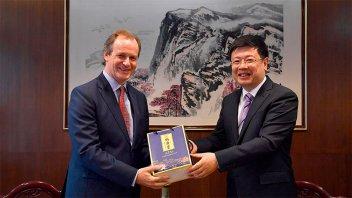 Bordet fortalece agenda comercial e institucional con China para el desarrollo