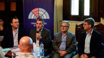 Ballay y Benedetto expusieron ante legisladores el proyecto de Presupuesto