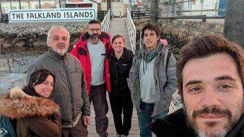 Pareja de entrerrianos viajó en velero hacia las Islas Malvinas