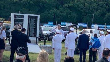 La Armada homenajeó a los tripulantes del ARA San Juan