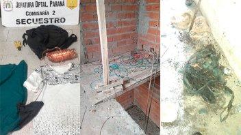 Secuestraron elementos vinculados al robo de cables en una obra en construcción