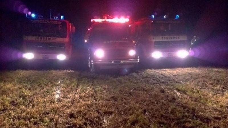 Se incendió un campo, entre Crespo y Aldea San Juan - Elonce.com