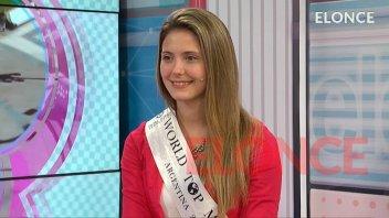 Belleza entrerriana: De niñera a concursar en certamen internacional de belleza