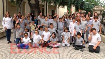 La escuela Bavio y el Colegio de Abogados juntan donaciones para Once por Todos