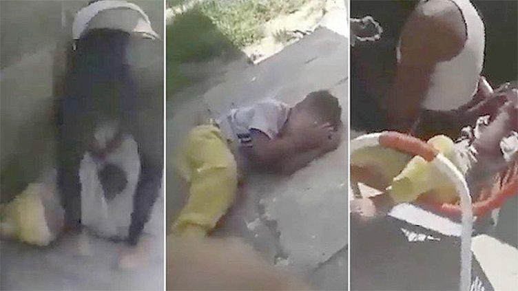 Niño de 2 años recibe una brutal golpiza de su madre: