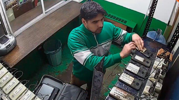 Detuvieron en Entre Ríos a ladrón filmado cuando robaba 60 tablets en Córdoba
