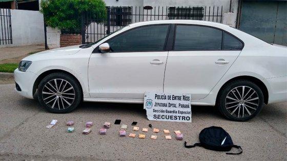 Persecución en Paraná: La explicación del conductor sobre el destino del dinero