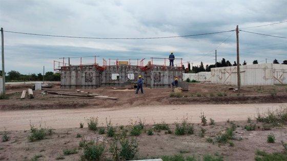 Avanza la construcción de 500 viviendas en la ciudad de Paraná