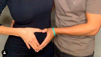 Confirmó su embarazo y expresó: