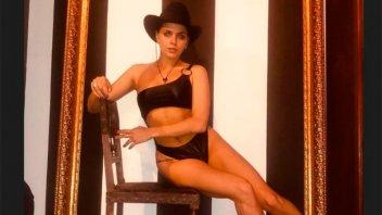 El desnudo total de Natalie Pérez que se llevó todas las miradas
