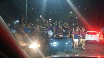 Miles de jóvenes festejaron