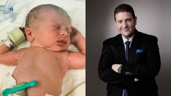 Jonatan Viale contó por qué su hijo recién nacido pasará dos semanas internado