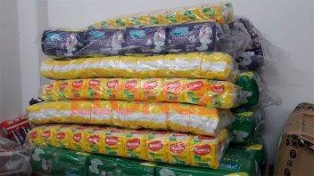 Cooperativa Aranguren donó pañales para Once por Todos