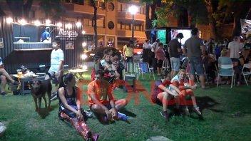 Juventud de UPCN se sumó a Once por Todos con el festival