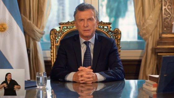 Macri en cadena nacional:
