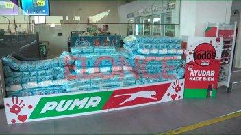 Once por Todos: Estaciones Puma donaron más de 7500 pañales
