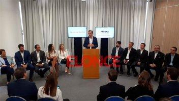 Bahl anunció su gabinete y una nueva estructura orgánica municipal