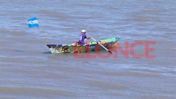 Reconocieron a pescadores artesanales en un festejo en Bajada Grande