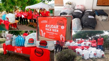 Ayudar Hace Bien: Las manos solidarias de las vecinales en Once por Todos