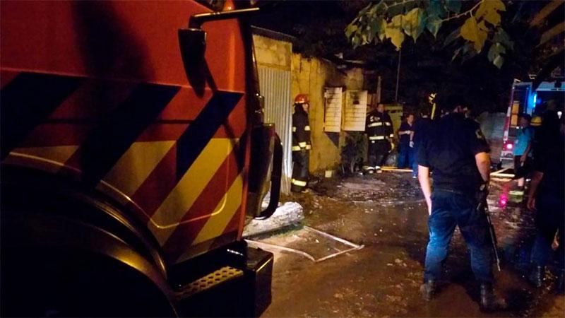 Luctuoso incendio de vivienda en Gualeguaychú: murió una niña