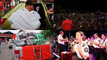 Ayudar hace bien: Como hace 15 años, la solidaridad movilizó a una multitud