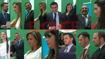 Juraron los concejales electos de Paraná