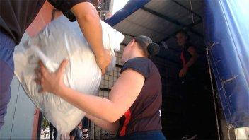 Once por Todos: Partieron los últimos camiones con donaciones