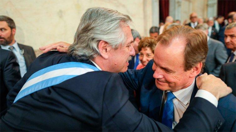 Bordet estuvo en la asunción del presidente Alberto Fernández