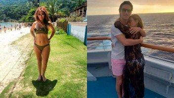 A los 54 años, Marcela Tauro se mostró en bikini y muy enamorada