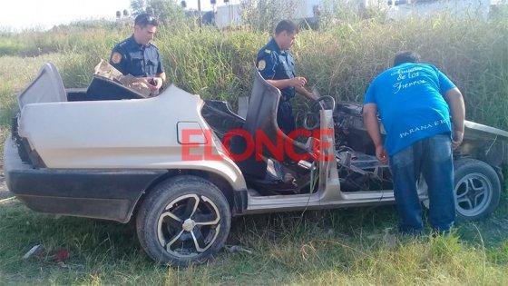 Hallaron desguazado al automóvil que habían robado del interior de un garaje