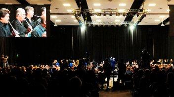 La Sinfónica de Entre Ríos cierra su año de presentaciones en La Vieja Usina
