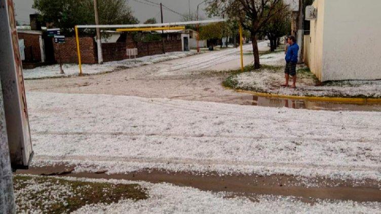 Imágenes: Fuerte temporal causó destrozos en la provincia de Córdoba