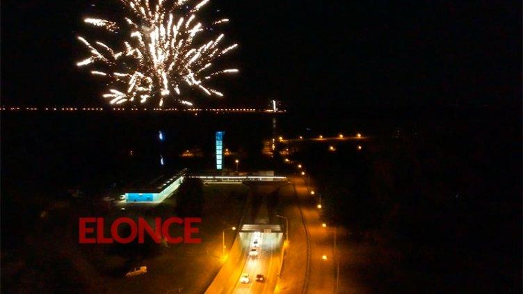 Videos: Reviva el espectacular show lumínico por el 50º aniversario del Túnel