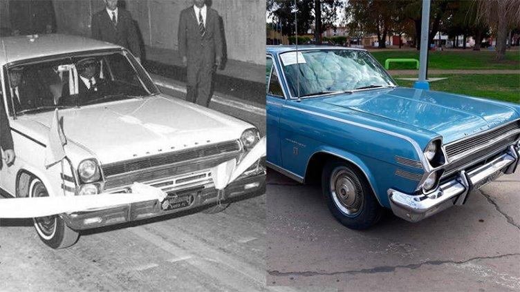 Es 1969 y tiene 85 mil km: Fotos e historia del primer auto que cruzó el túnel