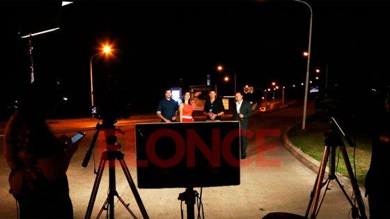 El Programa Buenas Noches transmitió en vivo desde el Peaje Paraná del Túnel