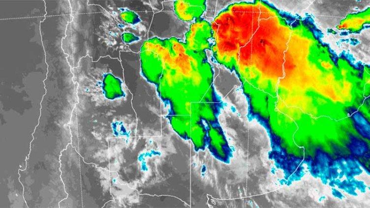 Entre Ríos en el ojo del temporal: Las próximas horas seguirían siendo críticas