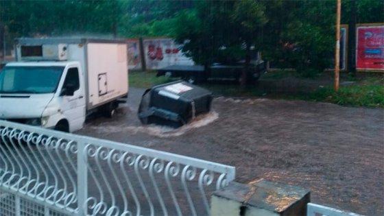 Anegamientos en Paraná: Registraban más de 50 pedidos de asistencia