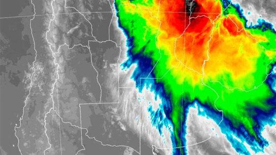En Entre Ríos ya llovieron más de 200 milímetros y sigue en alerta por tormentas